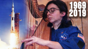 Permalien à: Harp celebration of the 50th Anniversary of the Moon Landing